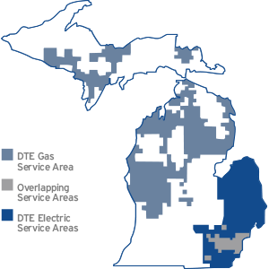 DTE Energy | Service Map on